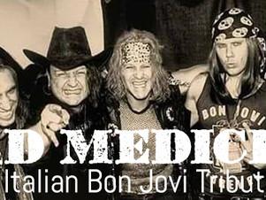 """BAD MEDICINE , Sabato 03 Giugno ore 16:30   """"ViVOLiVE in ME""""  TRS Radio e Magazzino Musica"""
