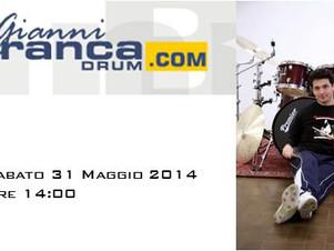 """GIANNI BRANCA live nel """"ViVOLiVE"""" di TRS Radio! Sa 31 Maggio ore 14:00"""