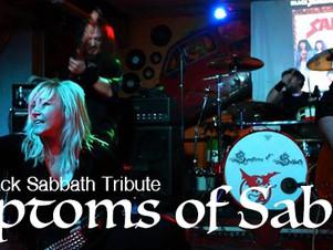 """SYMPTOMS of SABBATH, Domenica 03 Aprile  ore 16:30   """"ViVOLiVE in ME""""  TRS Radio e Magazzi"""