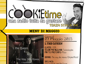 L The Queen è on Air nel Cookie Time di Mattia Garro su TRS Radio!