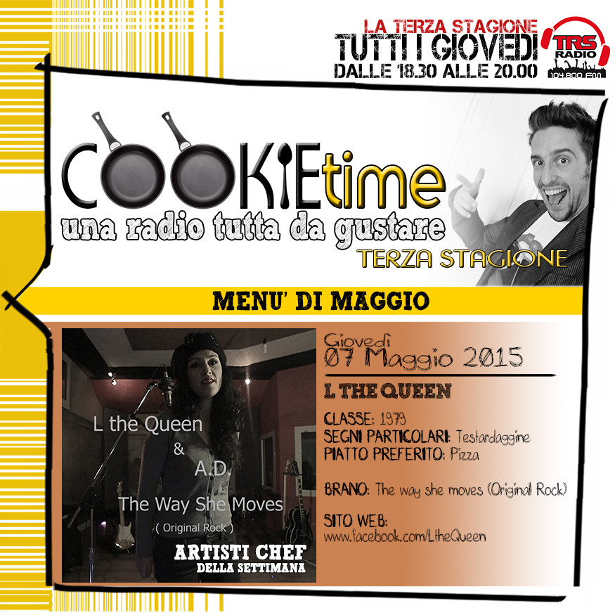 Mattia garro, L the Queen, cookie time, trs radio, radio savigliano, radio cuneo, matt garro, cookie time trsradio