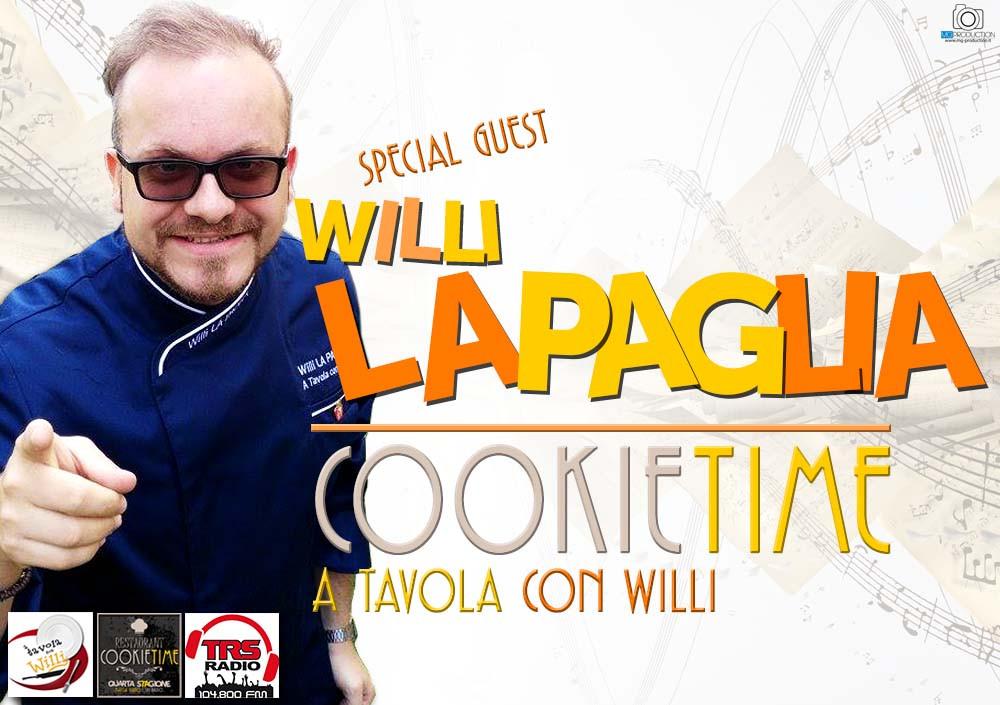 A tavola con willi, la nuova rubrica del Cookie Time con Matt garro su TRS Radio