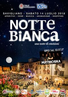 NOTTE BIANCA - Savigliano 14 Luglio 2018