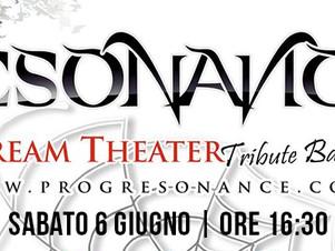 """PROGRESONANCE, Sabato 06 Giugno ore 16:30   live nel """"ViVOLiVE in ME""""  TRS Radio e Magazzi"""