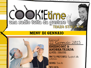 Enzino MC & Andrea Tejada nel Cookie Time di Mattia Garro, on Air su TRS Radio!