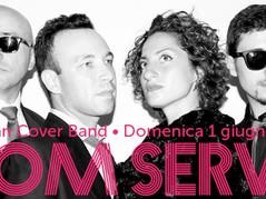 """ROOMSERVICE live nel """"ViVOLiVE in ME"""" di TRS Radio! Do 1 Giugno ore 16:30"""