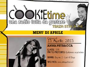Anna Petracca è l'Artista Chef del Cookie Time di Mattia Garro, su TRS Radio!
