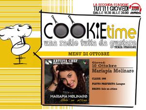 Su TRS Radio ritorna il Cookie Time con Mattia Garro e una nuova schiera di Artisti Chef!