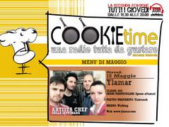 Cookie Time e Mattia Garro alle prese con un nuovo Artista Chef, on Air TRS Radio, gli Ylamar!