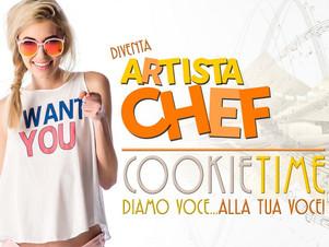 Artista Chef? Diventa il protagonista del Cookie Time!