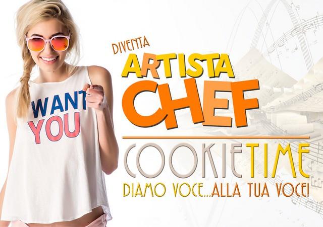 Cookie Time Mattia Garro TRS Radio Artsita Chef Quarta Edizione