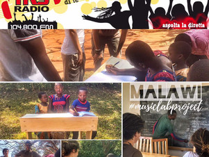 Progetto MALAWI MusicLAB. TRS RADIO e AfricaWildTruck