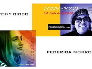 """TONY CICCO + FEDERICA MORRONE ', Sabato 28 Novembre  ore 14:30   """"ViVOLiVE """"  TRS Radi"""