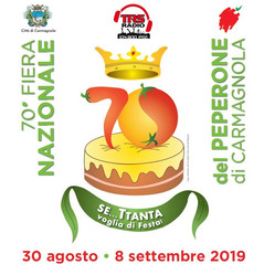 70 SAGRA DEL PEPERONE - Carmagnola 30 agosto - 8 settembre 2019