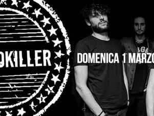"""PSYCHOKILLER, Domenica 01 Marzo ore 16:30   live nel """"ViVOLiVE in ME""""  TRS Radio e Magazzino Musical"""