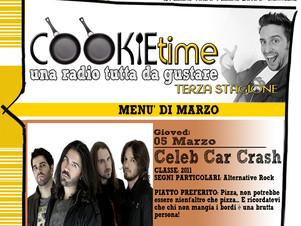 Mattia Garro torna con il Cookie Time e i Celeb Car Crash, on Air su TRS Radio!