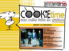 Cookie Time con Mattia Garro incontra i The Tocsins, on Air su TRS Radio