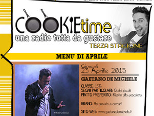 Su TRS Radio Gaetano De Michele è l'Artista Chef del Cookie Time!