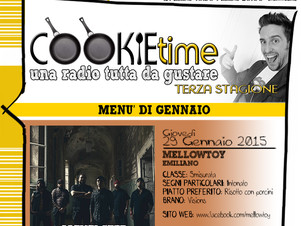 Mellowtoy Artisti Chef nel Cookie Time di Mattia Garro, on Air su TRS Radio!