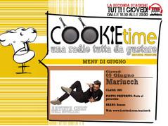 Mariucch, Artista Chef del Cookie Time con Mattia Garro!