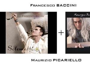 """FRANCESCO BACCINI + MAURIZIO PICARIELLO live nel """"ViVOLiVE"""" di TRS Radio! Sa 21 Giugno ore 14:00"""