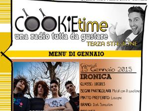 Matt Garro e Ironica, on Air nel Cookie Time di TRS Radio!
