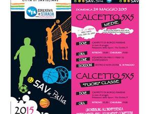 SAVINPALLA 2015 24 Maggio,  TRS Radio a savinpalla!