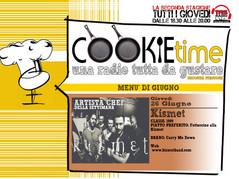 Kismet, Artista Chef nel Cookie Time di Mattia Garro!
