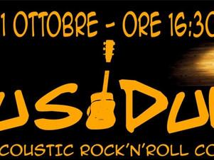 """MUSIDURI live nel """"ViVOLiVE in ME"""" di TRS Radio e Magazzino Musicale Merula! Sa 11 Ottobre ore 16:30"""