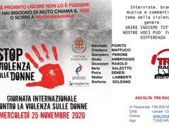 STOP ALLA VIOLENZA SULLE DONNE - 25 NOVEMBRE,  2020