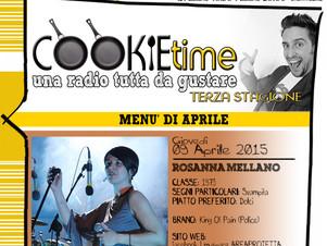 Amos Dj e Rosanna Mellano, Artisti Chef nel Cookie Time di Mattia Garro su TRS Radio