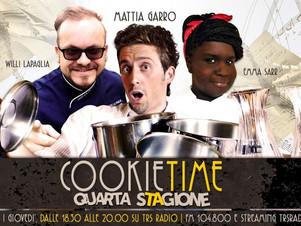Cookie Time, la quarta stagione su TRS Radio è ancora più ghiotta!