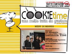 Ludmilla Tree Artisti Chef per un giorno nel Cookie Time di mister Mattia Garro