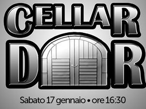 """CELLAR DOOR live nel """"ViVOLiVE in ME"""" di TRS Radio e Magazzino Musicale Merula! Sa 17 Gennaio ore or"""