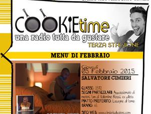 Cimieiri è l'Artista Chef del Cookie Time di Mattia Garro, on Air su TRS Radio!