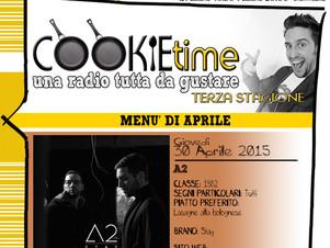 Gli A2 saranno gli Artisti Chef del Cookie Time di Mattia Garro su TRS Radio!