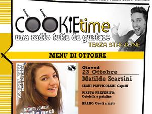 Matilde Scarsini, on Air nel Cookie Time di Mattia Garro su TRS Radio!
