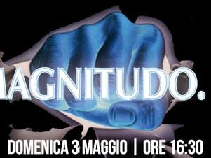 """MAGNITUDO.5, Domenica 3 Maggio ore 16:30   live nel """"ViVOLiVE in ME""""  TRS Radio e Magazzin"""