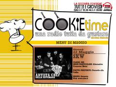 Artista Chef del Cookie Time con Mattia Garro gli SKW, on Air su TRS Radio