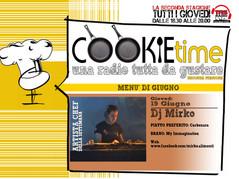 DJ Mirko Artista Chef del Cookie Time su TRS Radio con Mattia Garro!