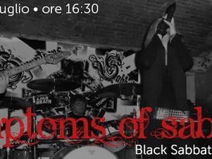 """SYMPTOMS OF SABBATH - live nel """"ViVOLiVE in ME"""" di TRS Radio e Magazzino Musicale Merula! Do06 Lugli"""