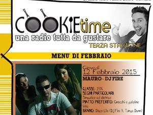 Mauro Perrotti, in arte DJ Fire, nel Cookie Time di Mattia Garro, on air su TRS Radio!