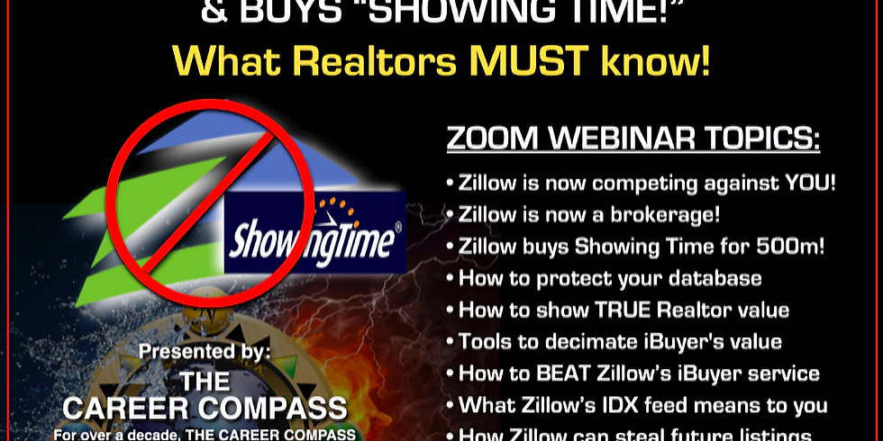 ZILLOW, ShowingTime, & MORE....What EVERY Realtor MUST Know