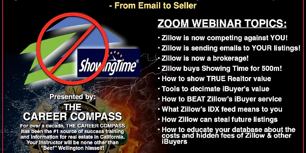 ZILLOW IS CONTACTING YOUR LISTINGS!