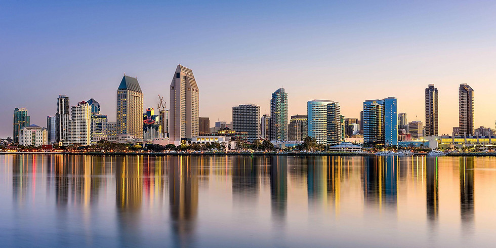 May 7, 8, 9 - 2021 Downtown San Diego