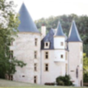 The beautiful Chateau at Saint Martory -