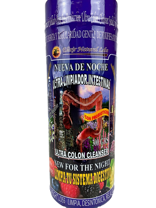 Ultra Limpiador Intestinal DE NOCHE/FOR THE NIGHT