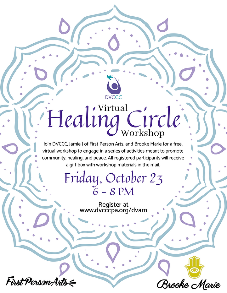 PNG UPDATED Virtual Healing Circle Flyer