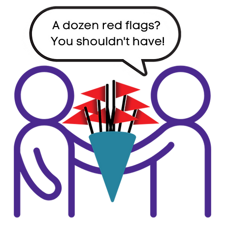 A dozen red flags You shouldn't have!.pn
