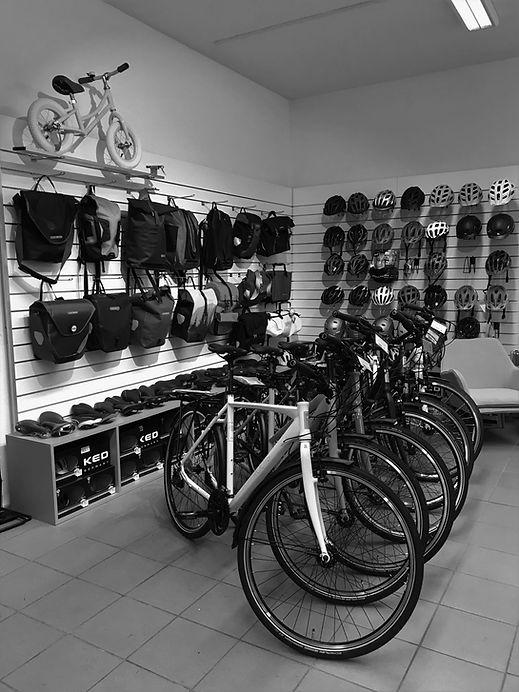 VerkaufVerkaufsraum Fahrradladen Velo Garage Mannheim